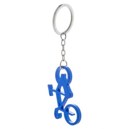 breloc metal cyclex albastru